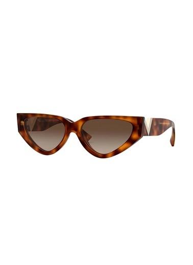 Valentino Valentino 4063 501113 54 Ekartman Kadın Güneş Gözlüğü Kahve